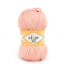 Пряжа Alize Cotton Gold Plus (55% хлопок, 45% акрил) 100 гр, 200 м, 143 пудра
