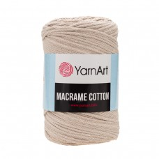 Пряжа YarnArt Macrame Cotton (85% хлопок, 15% полиэстер) 250 гр, 225 м, 753